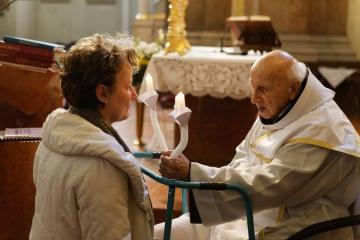Bánk atya 90 éves