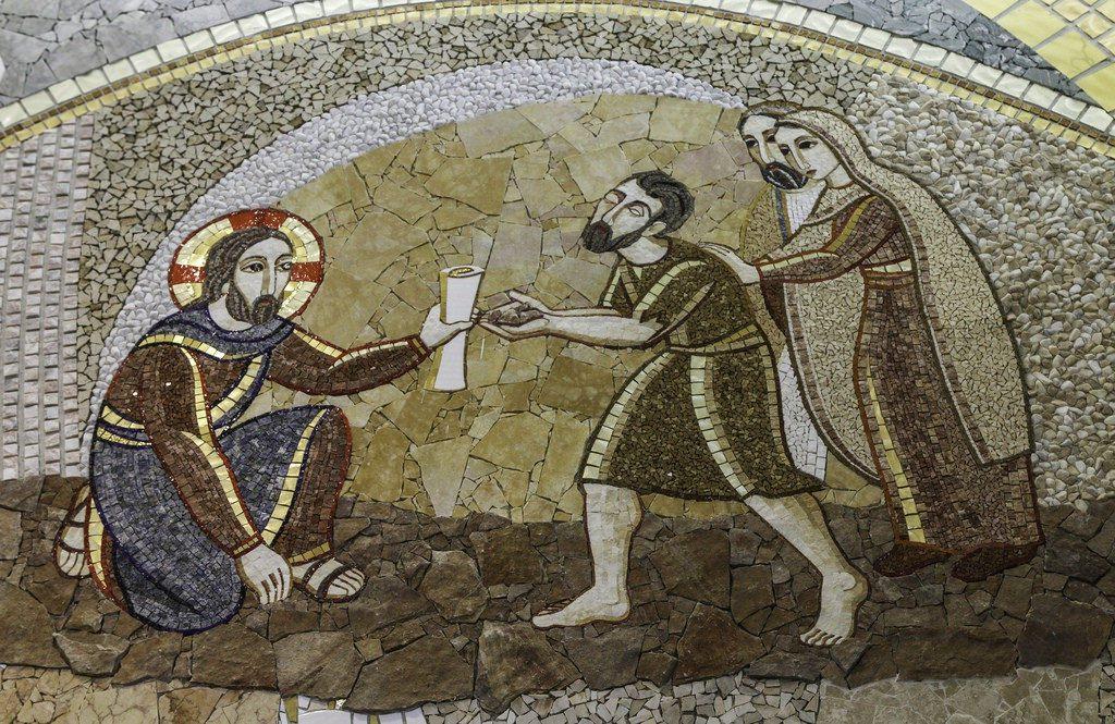 hogyan állította vissza Jézus a látását)